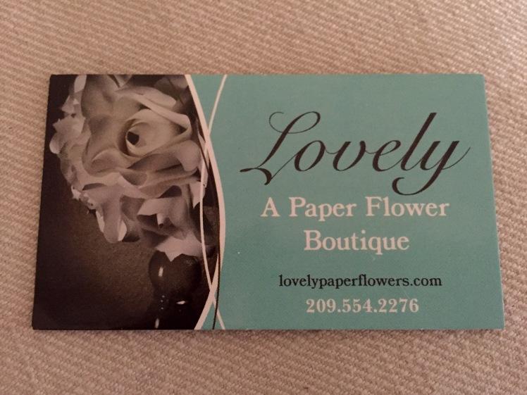 Lovely Paper Flowers Bay Area Wedding Vendor Ceremony Reception Idea