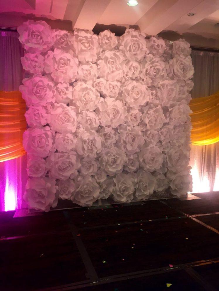 Wedding Flowers Lovely Paper Flowers Reception Ceremony Idea www.lovelypaperflowers.com
